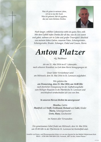 Anton Platzer