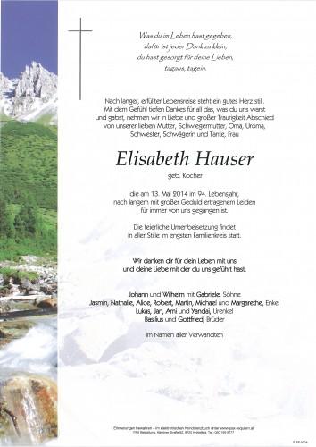 Elisabeth Hauser