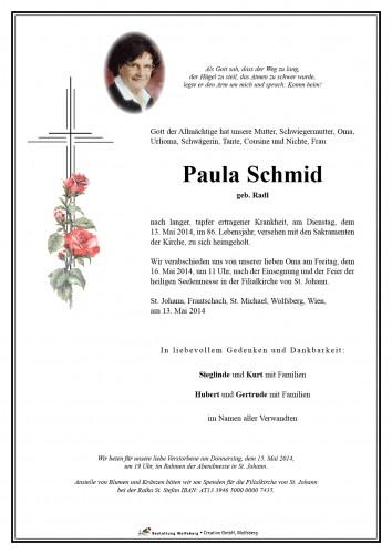 Paula Schmid