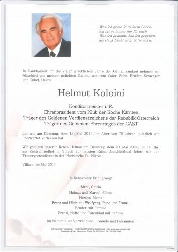 Helmut Koloini