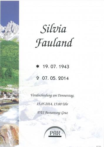 Silvia Fauland