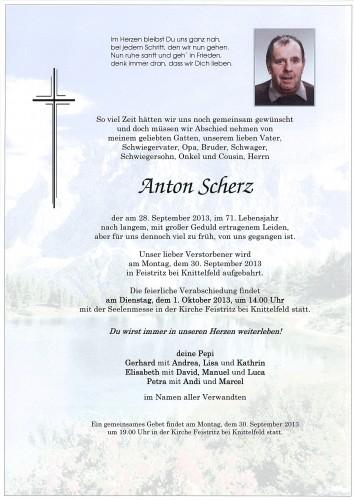 Anton Scherz