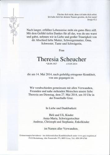Theresia Scheucher