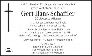 Gert Schaffler