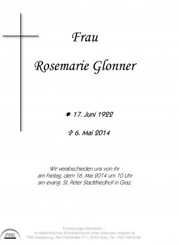 Rosemarie Glonner