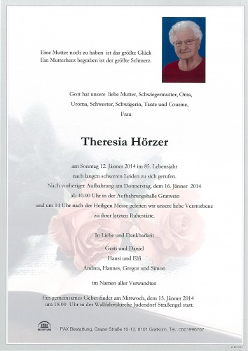 Theresia Hörzer