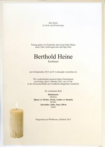 Berthold Hermann Heine