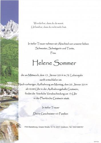 Helene Sommer