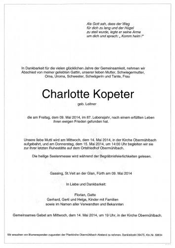 Charlotte Kopeter