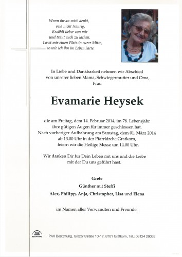 Evamaria Heysek