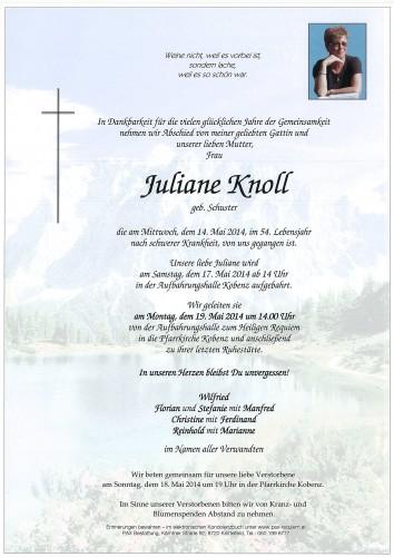Juliane Knoll