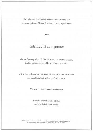 Edeltraut Baumgartner