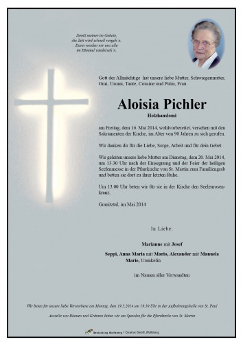 Aloisia Pichler