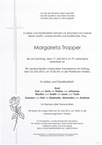 Margareta Tropper