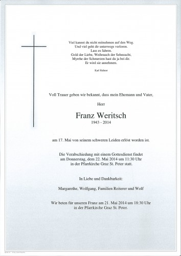 Franz Weritsch