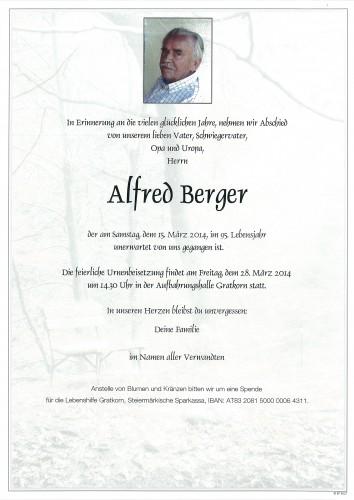 Alfred Berger