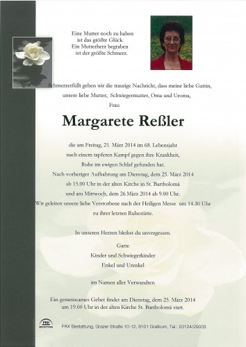 Margareta Reßler