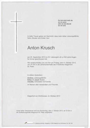 Anton Krusch