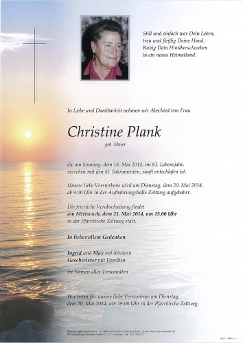 Christine Plank