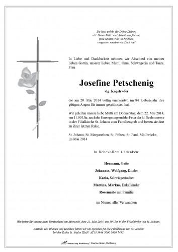 Josefine Petschenig