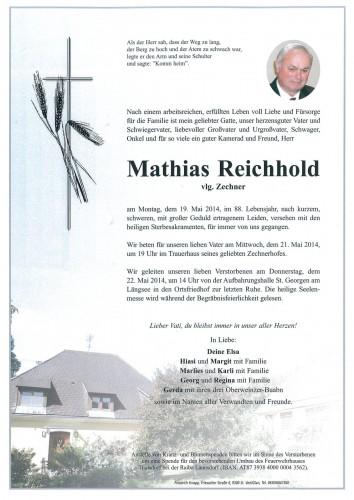 Mathias Reichhold