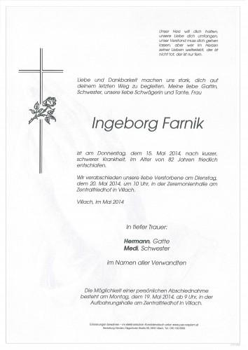 Ingeborg Farnik