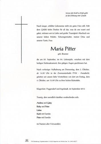 Maria Pitter