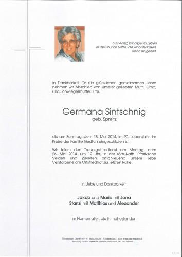 Germana Sintschnig