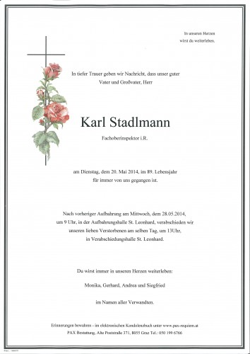 Karl Stadlmann