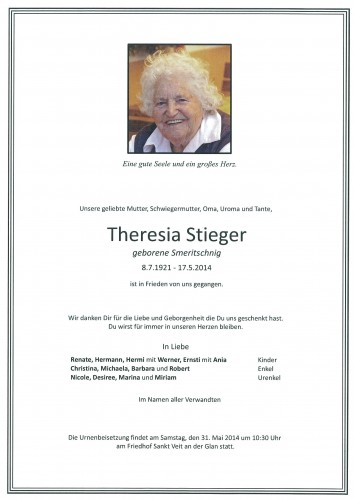 Theresia Stieger