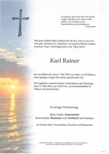 Karl Rainer