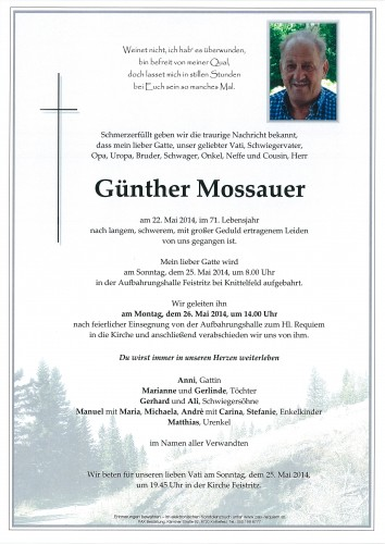 Günther Mossauer