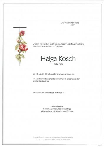Helga Kosch