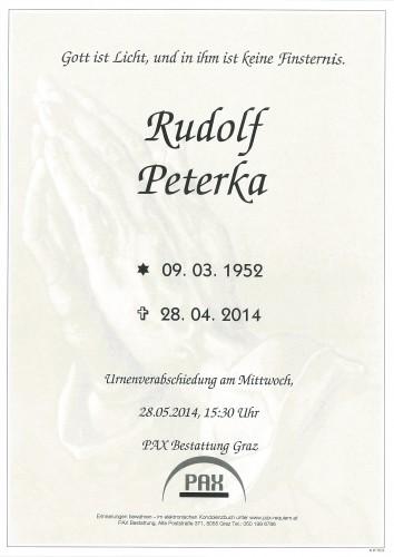 Rudolf Peterka
