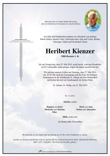 Heribert Kienzer