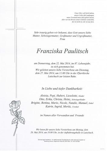 Franziska Paulitsch