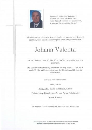 Johann Valenta
