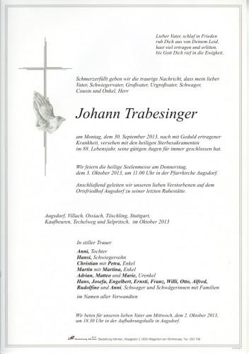 Johann Trabesinger