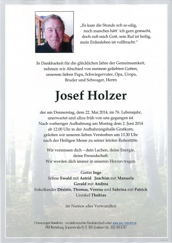Josef Holzer