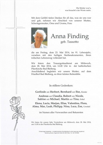 Anna Finding