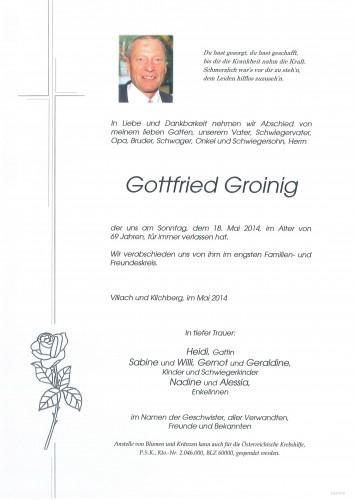 Gottfried Groinig