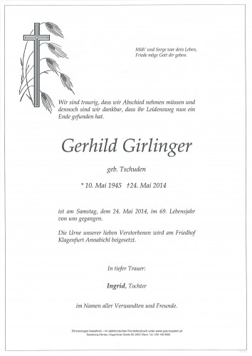 Gerhild Girlinger