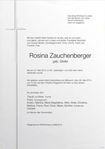 Rosina Zauchenberger