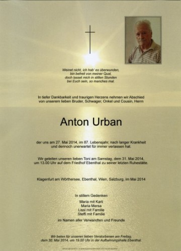 Anton Urban