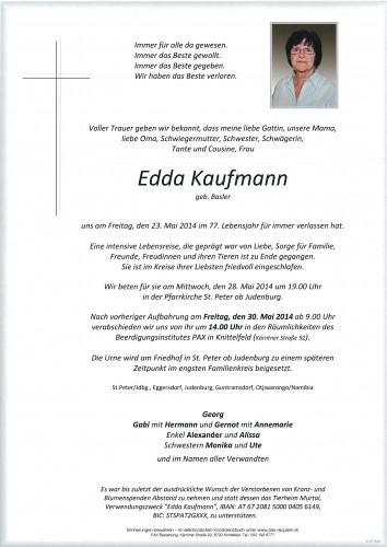 Edda Kaufmann