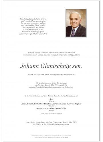 Johann Glantschnig sen.