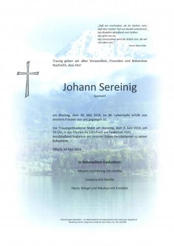 Johann Sereinig