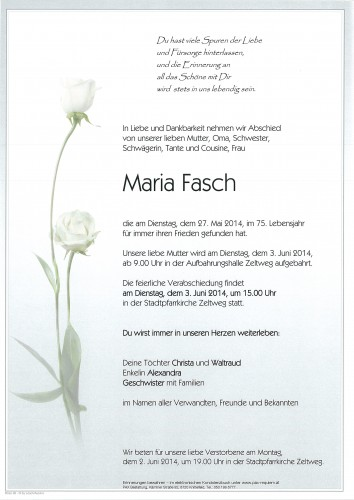 Maria Fasch