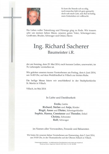 Richard Sacherer