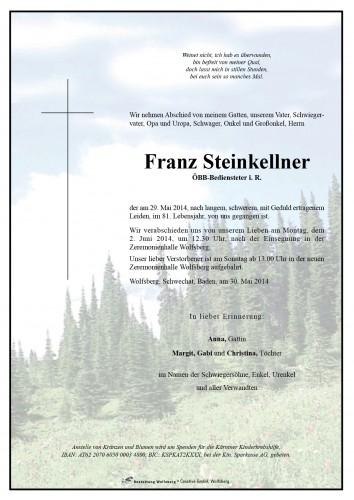 Steinkellner Franz